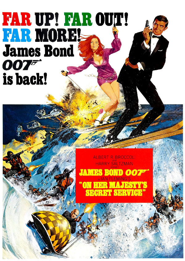 'On Her Majesty's Secret Service' movie poster