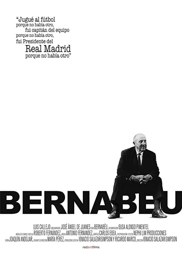 'Bernabéu' movie poster
