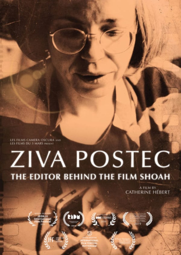 'Ziva Postec: The Editor Behind The Film Shoah' movie poster