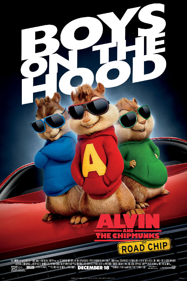 'Alvin & The Chipmunks: The Road Chip' movie poster