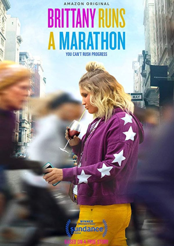 'Brittany Runs A Marathon' movie poster
