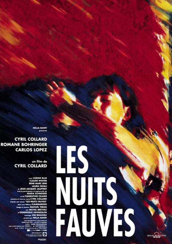 'Savage Nights (Les Nuits Fauves)' movie poster