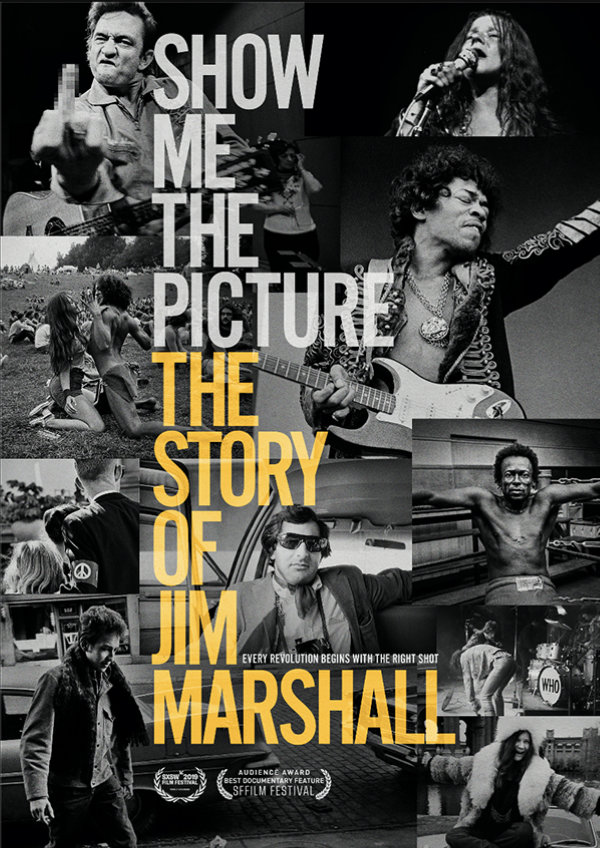 'Show Me The Picture: The Story of Jim Marshall' movie poster
