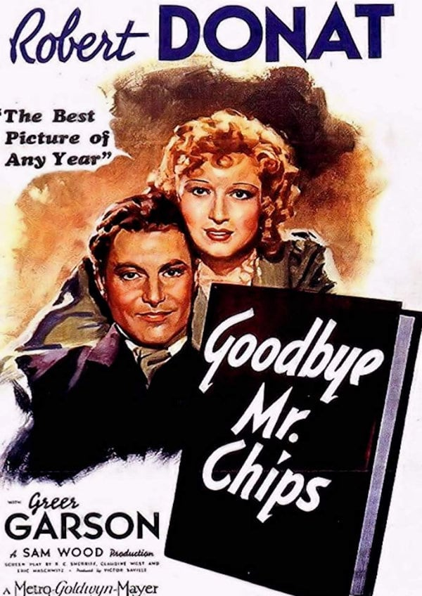 'Goodbye, Mr. Chips' movie poster