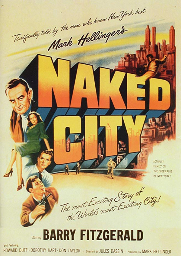 'The Naked City' movie poster