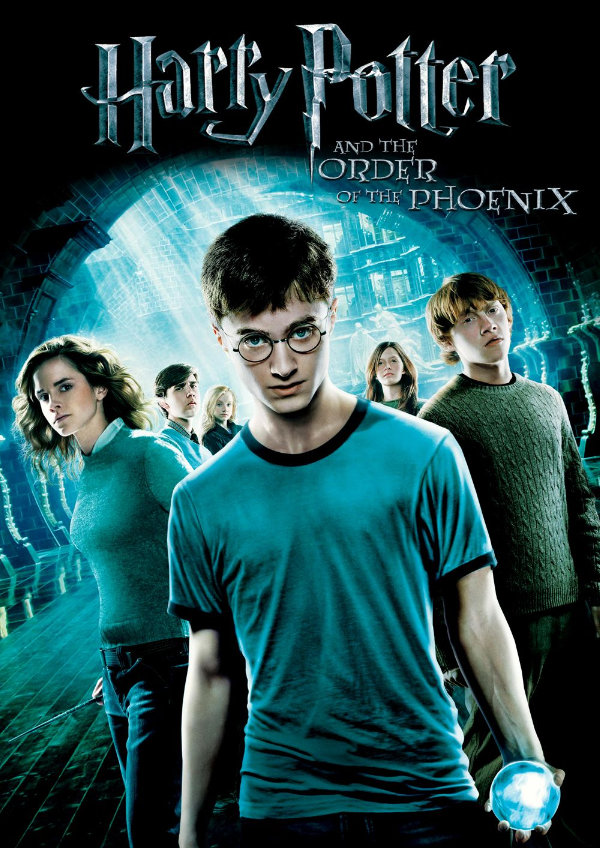 'Harry Potter And The Order Of The Phoenix' movie poster