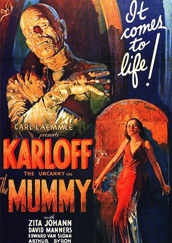 'The Mummy (1932)' movie poster