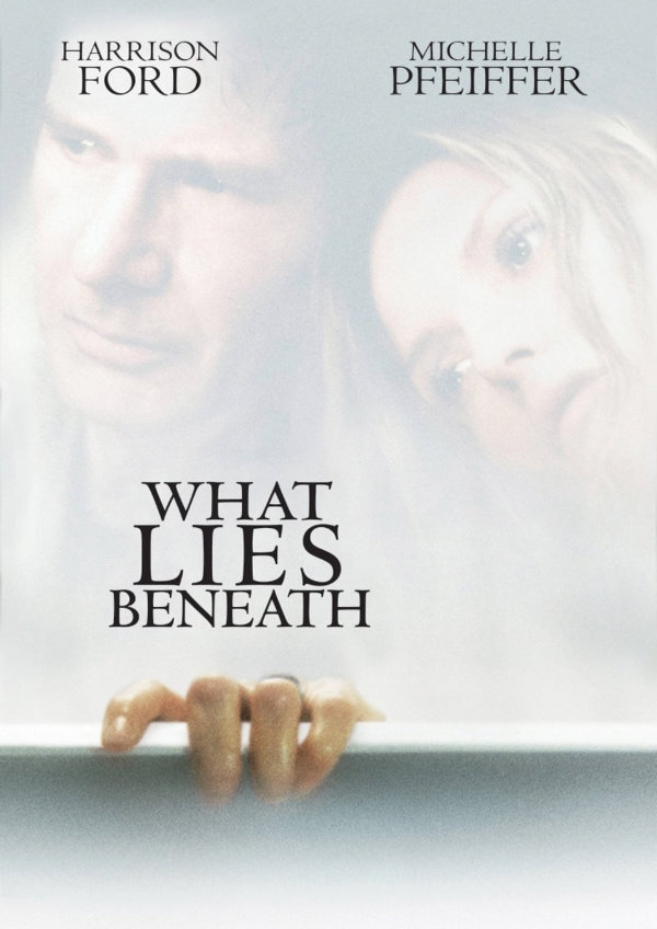 'What Lies Beneath' movie poster