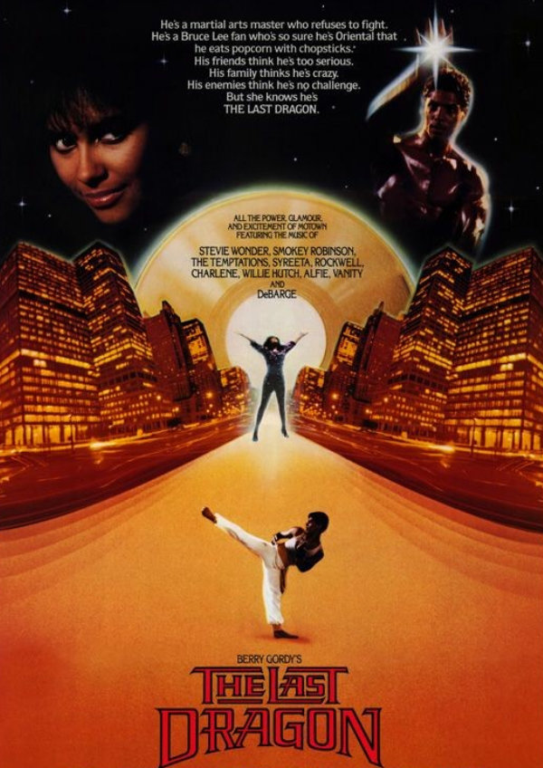 'The Last Dragon' movie poster