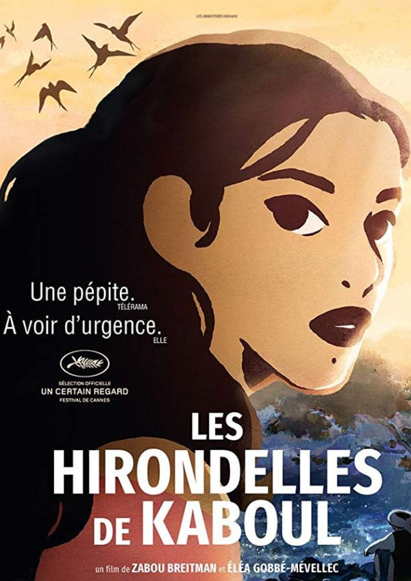 'The Swallows of Kabul (Les Hirondelles de Kaboul)' movie poster