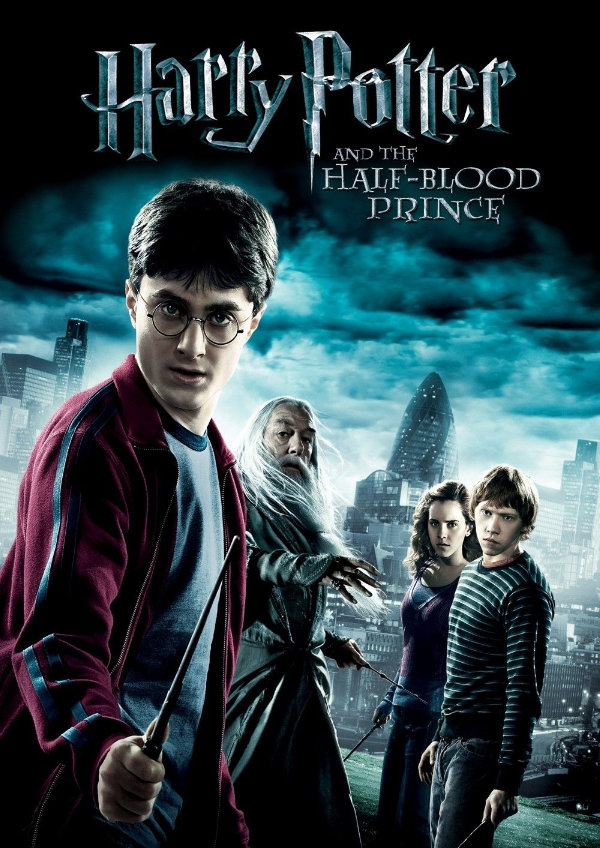 'Harry Potter And The Half-Blood Prince' movie poster