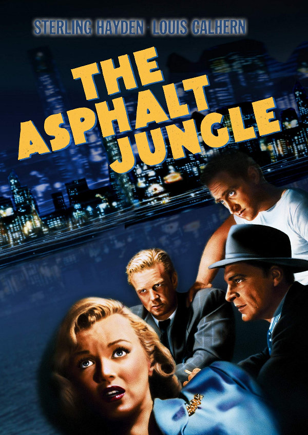 'The Asphalt Jungle' movie poster