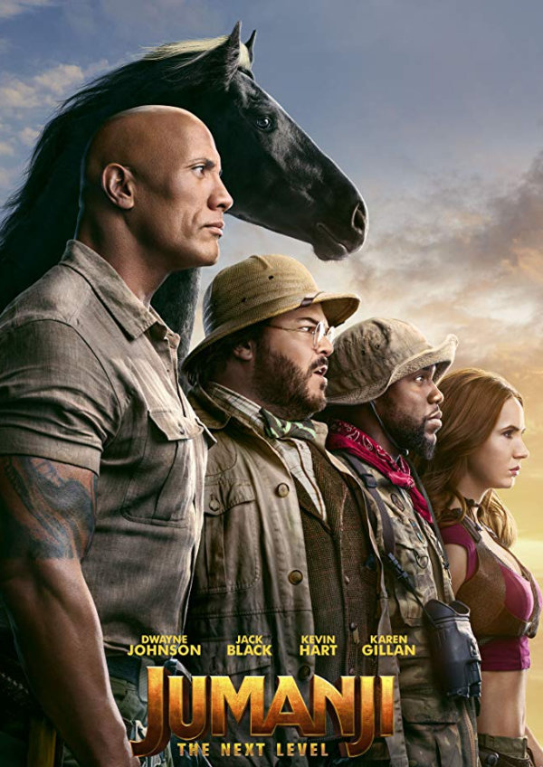 'Jumanji: The Next Level' movie poster