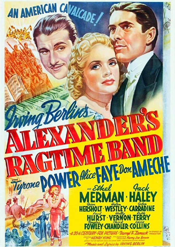 'Alexander's Ragtime Band' movie poster