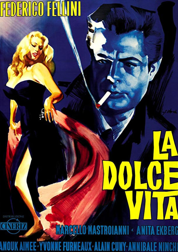 'La Dolce Vita' movie poster
