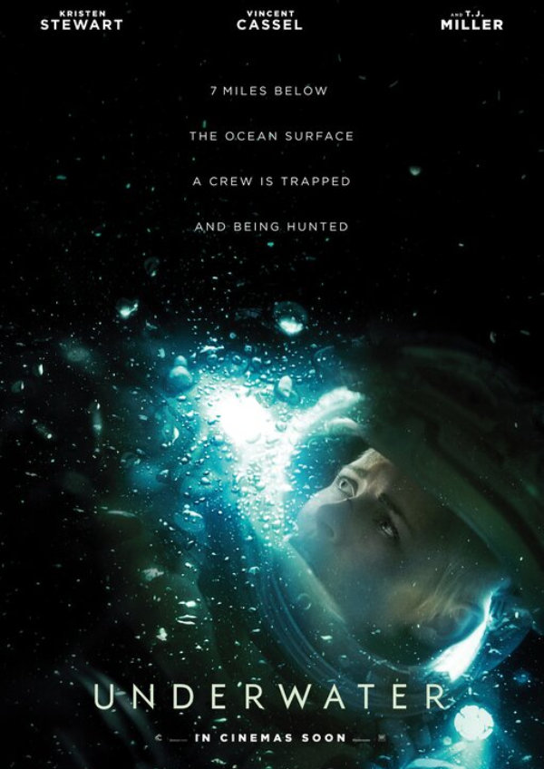 'Underwater' movie poster