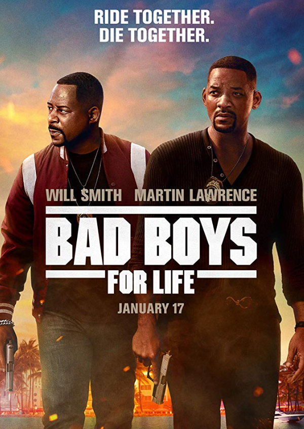 'Bad Boys For Life' movie poster