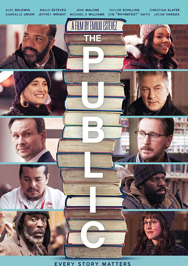 'The Public' movie poster