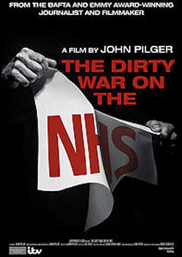 'The Dirty War on the NHS' movie poster