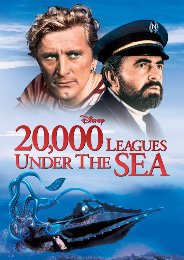 '20,000 Leagues Under The Sea' movie poster