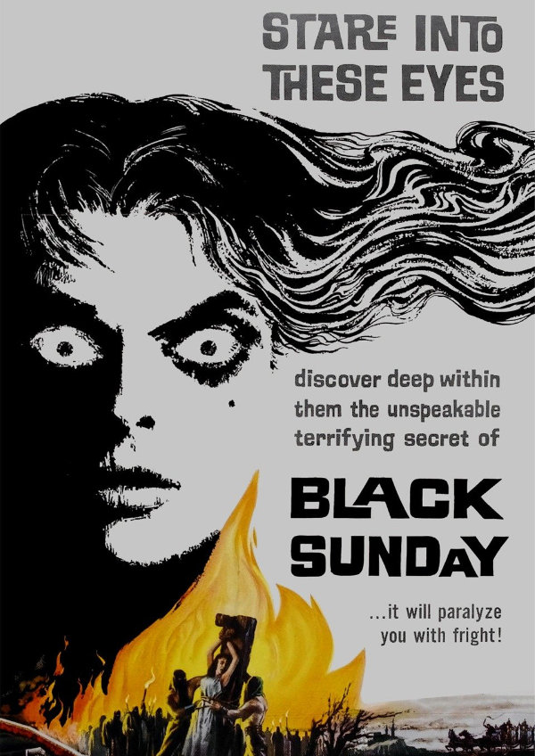 'Black Sunday (La Maschera Del Demonio)' movie poster