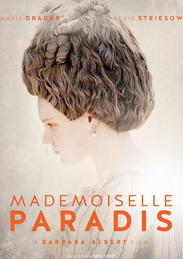 'Mademoiselle Paradis' movie poster