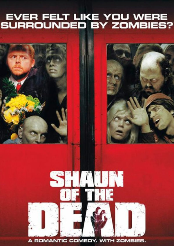 'Shaun Of The Dead' movie poster