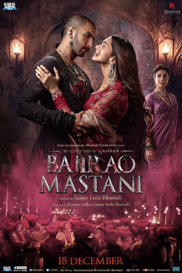'Bajirao Mastani' movie poster