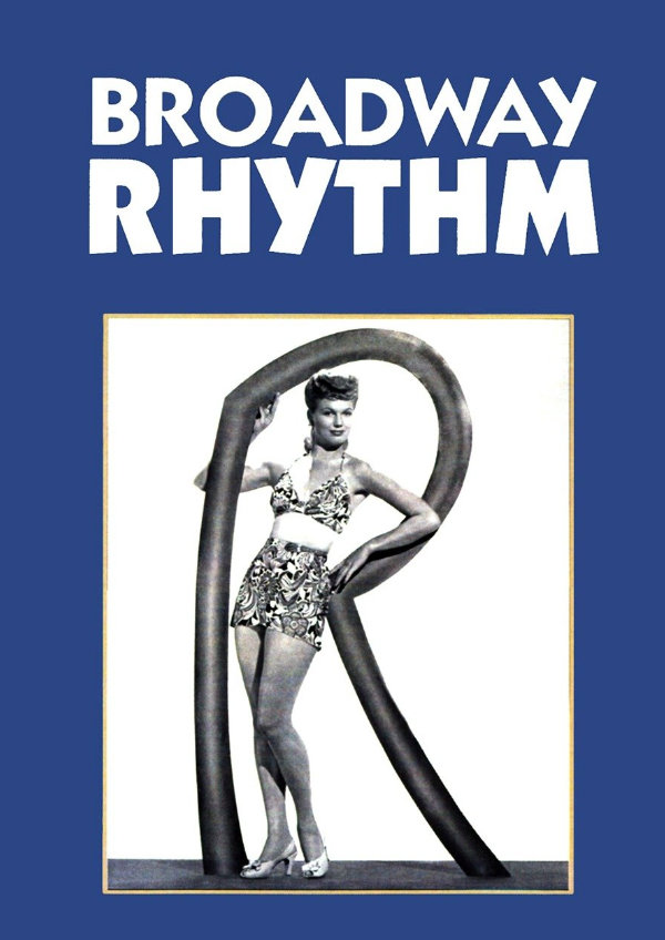 'Broadway Rhythm' movie poster