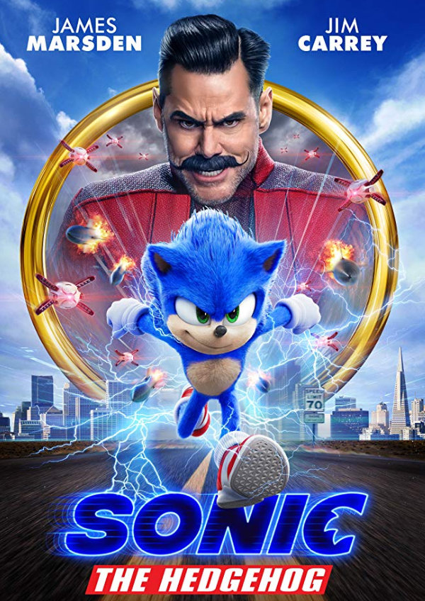 'Sonic the Hedgehog' movie poster