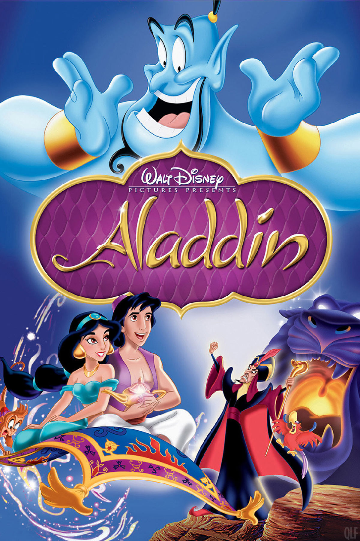 'Aladdin' movie poster
