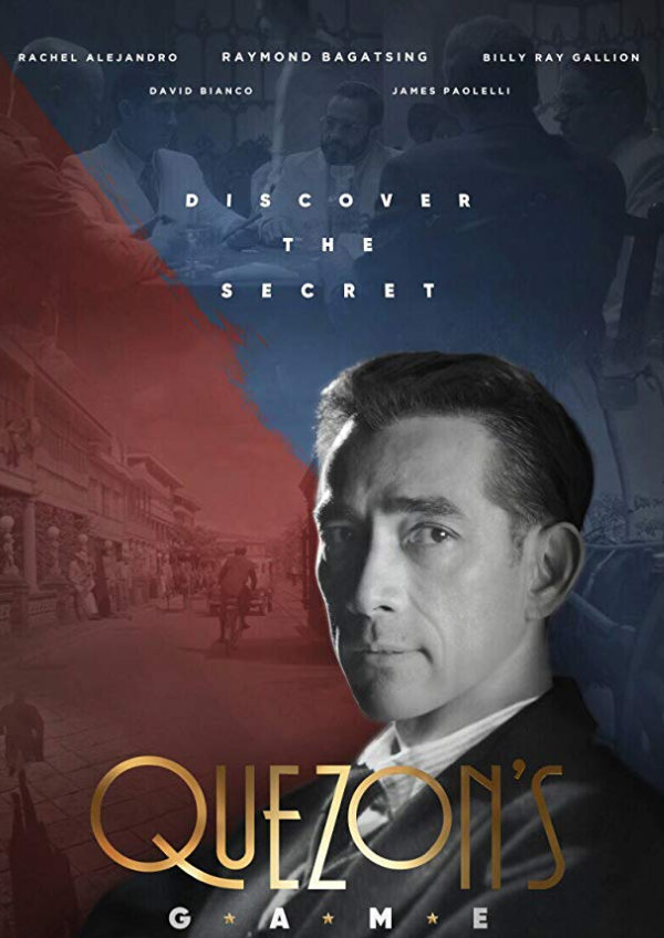'Quezon's Game' movie poster