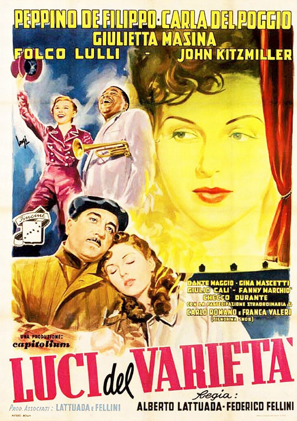 'Lights Of Variety (Luci Del Varietà)' movie poster