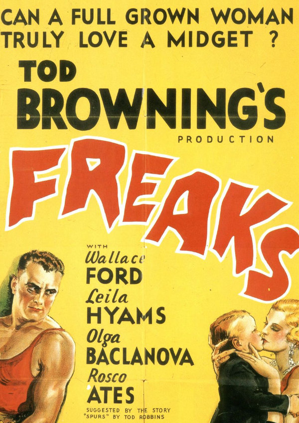 'Freaks' movie poster