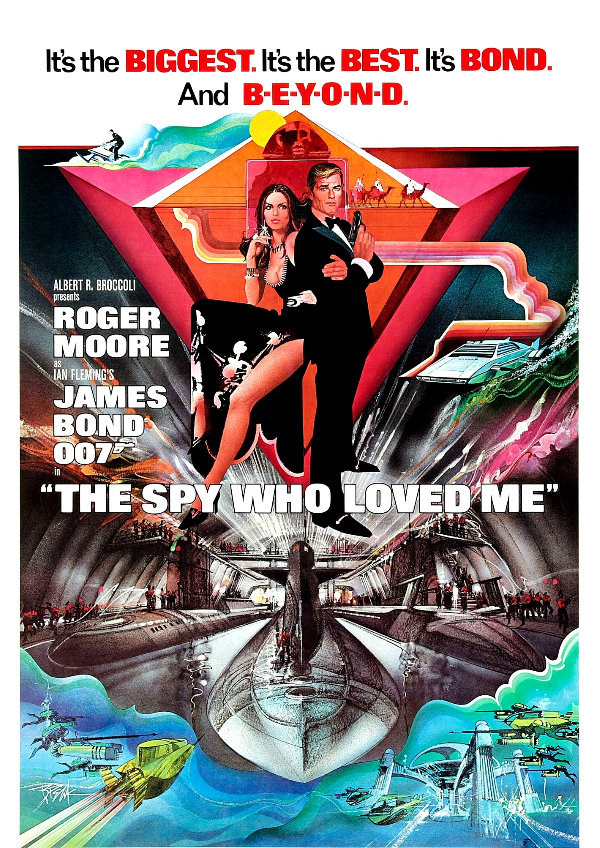 'The Spy Who Loved Me' movie poster