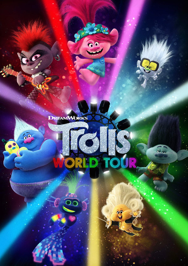 'Trolls World Tour' movie poster