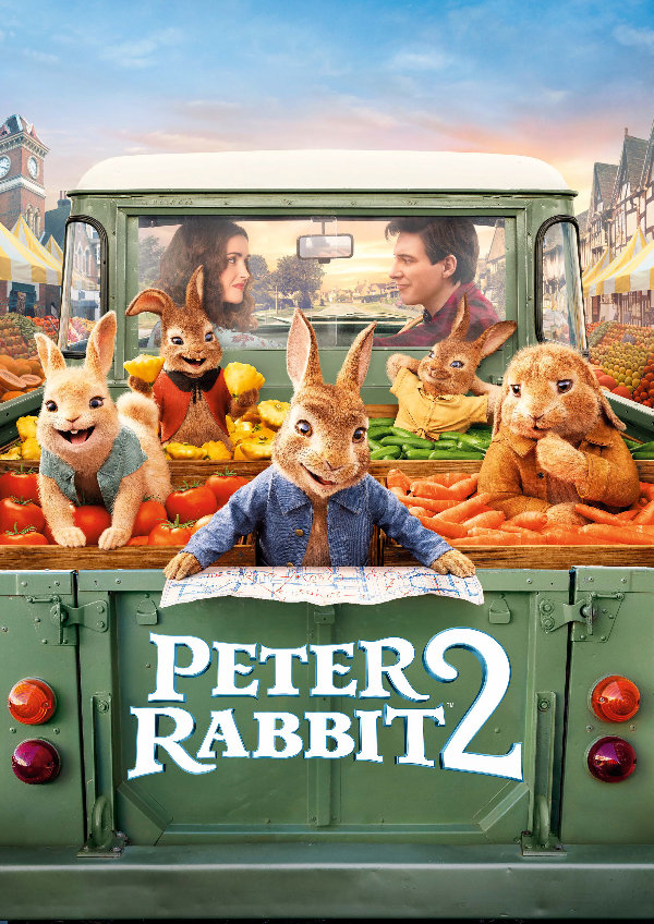 'Peter Rabbit 2' movie poster
