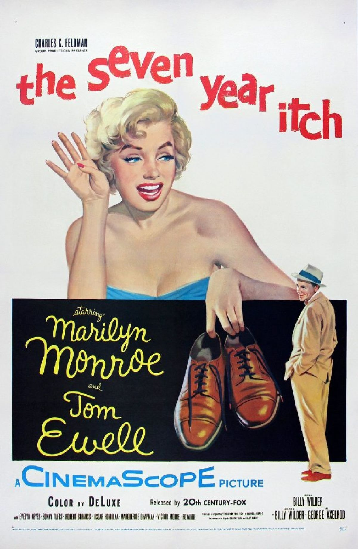 'The Seven Year Itch' movie poster