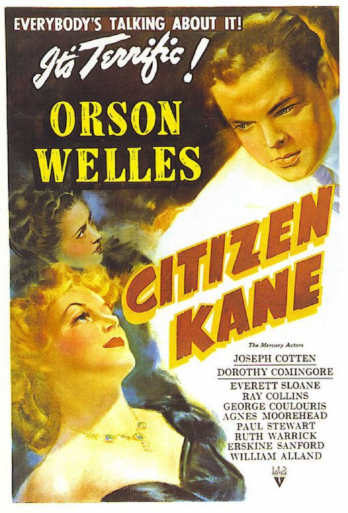 'Citizen Kane' movie poster