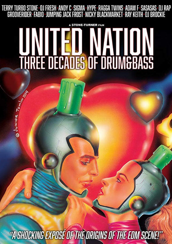 'United Nation: Three Decades of Drum & Bass' movie poster