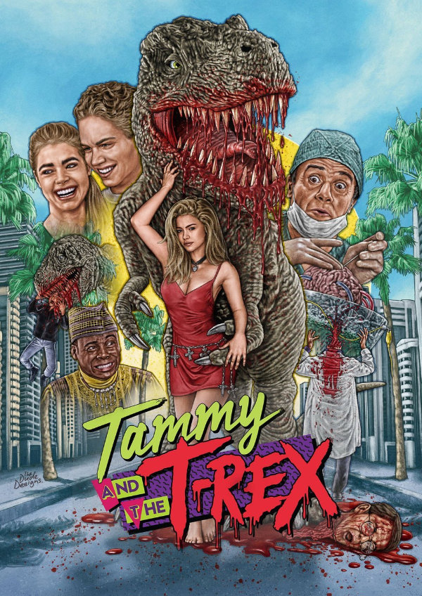 'Tammy And The T-Rex' movie poster