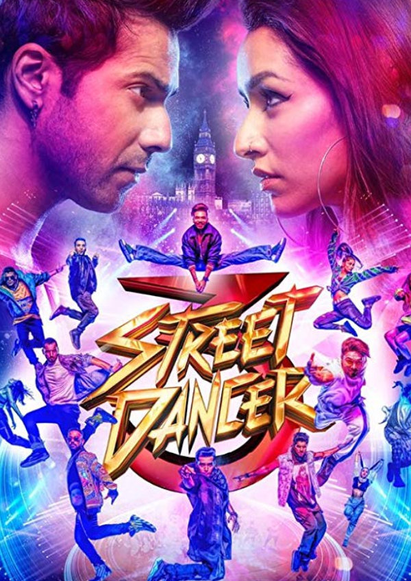 'Street Dancer 3D' movie poster