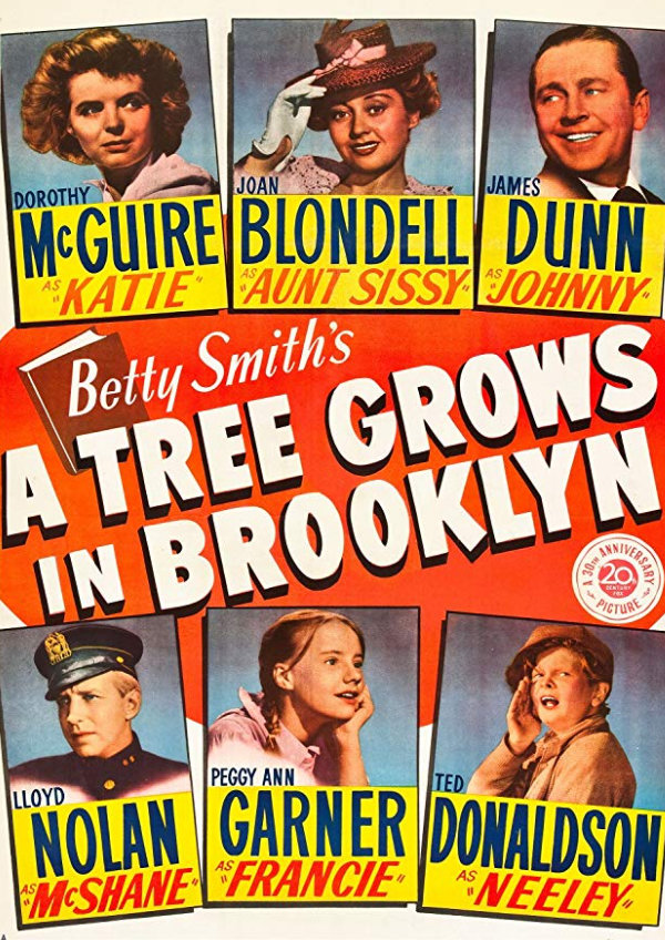 'A Tree Grows in Brooklyn' movie poster
