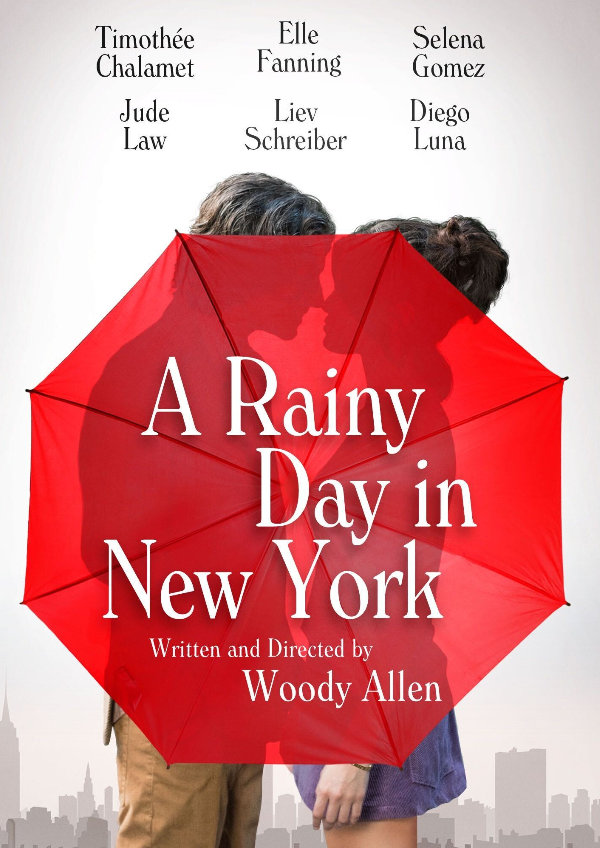 'A Rainy Day in New York' movie poster