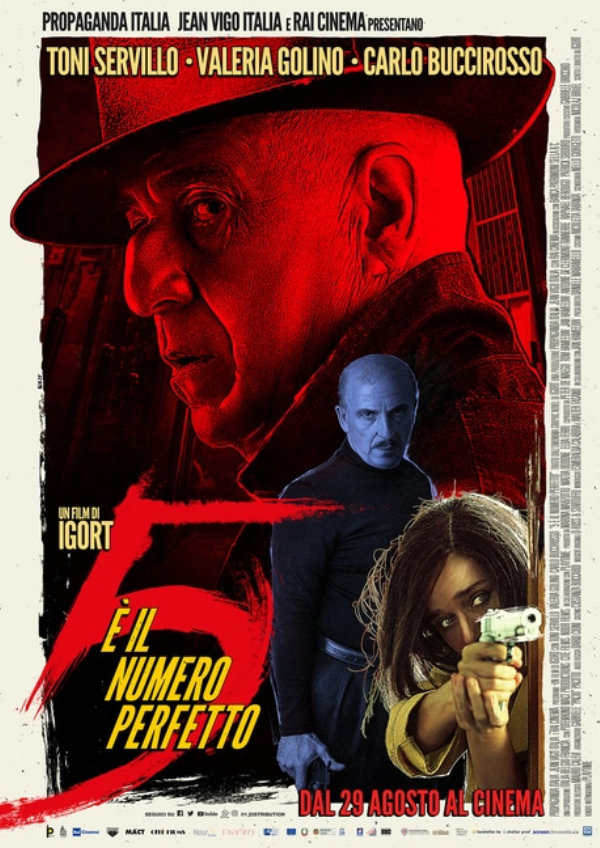 '5 Is The Perfect Number (5 è il Numero Perfetto)' movie poster