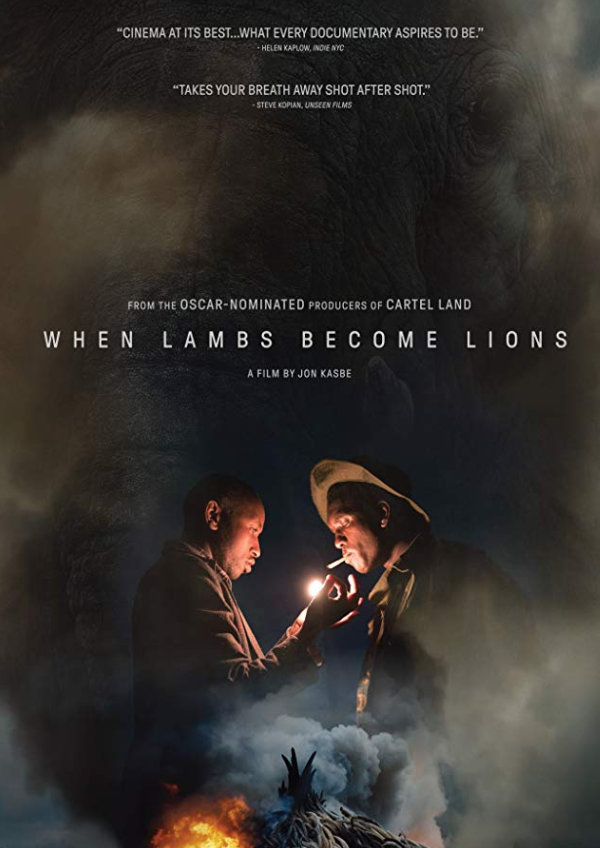 'When Lambs Become Lions' movie poster