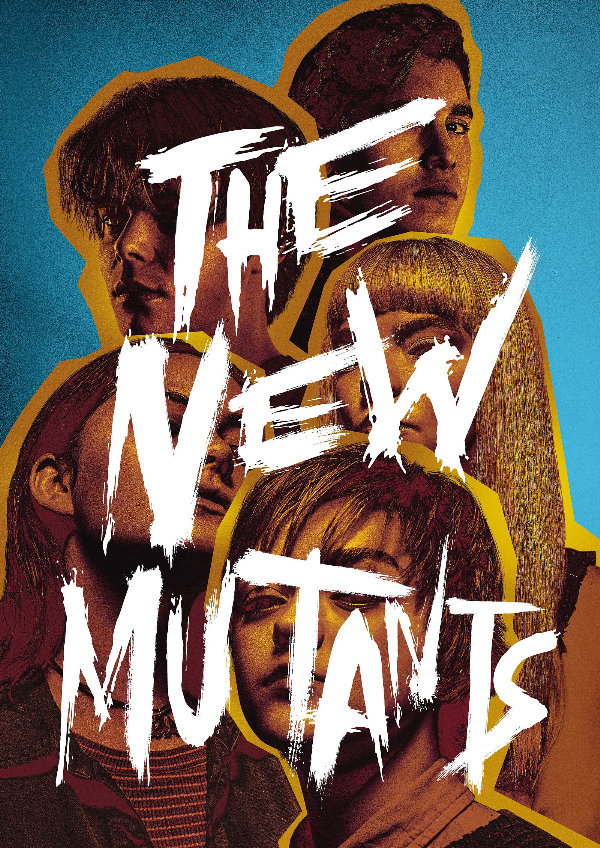 'The New Mutants' movie poster