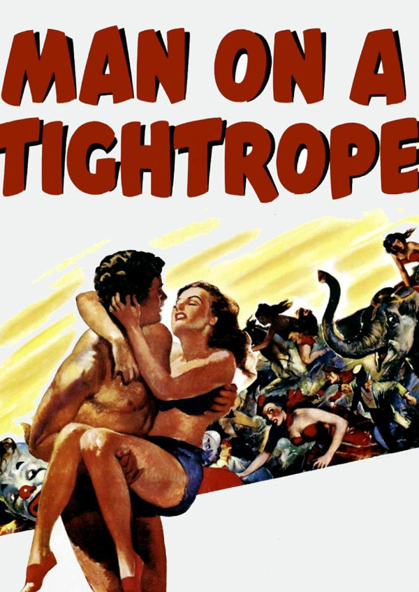 'Man On A Tightrope' movie poster