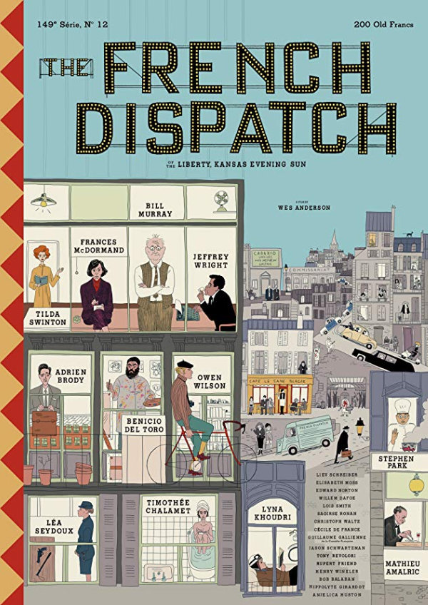 'The French Dispatch' movie poster