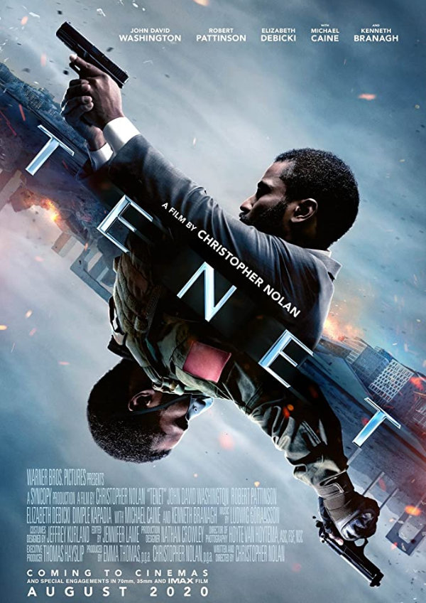'Tenet' movie poster